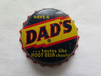 CROWN SEAL BOTTLE CAP DADS ROOT BEER c1960s USA ??