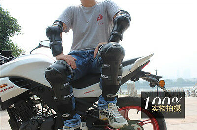 VEMAR Motocross Motorcycle Racing ABS Elbow Knee Pads Armor Protective Guard