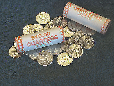 Uncirculated State and US Territories Quarters both D and P Mints