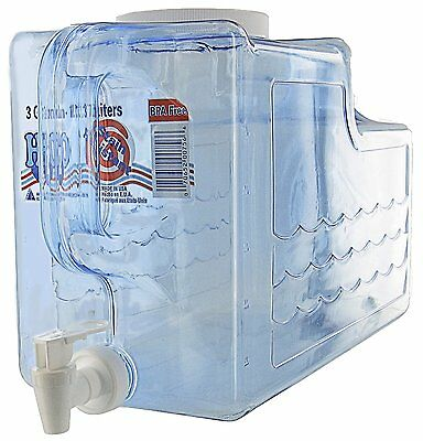 Arrow Home Products 00756 Beverage Dispenser, 3-Gallon, Clear by Arrow Plastic