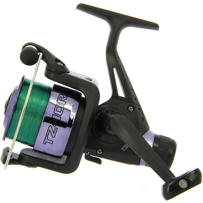 1 x TZ40R NGT Black Carp Coarse Float Feeder Match Fishing Reel with 8lb Line