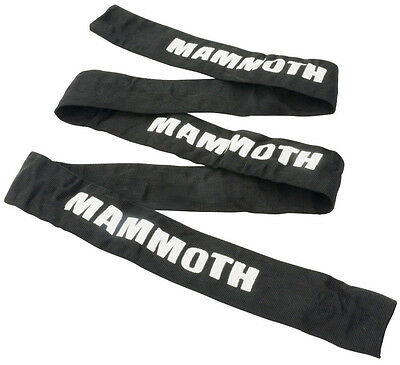 Replacement Mammoth 1.8M Motorcycle Sports Road Bike Scooter Chain Lock Sleeve
