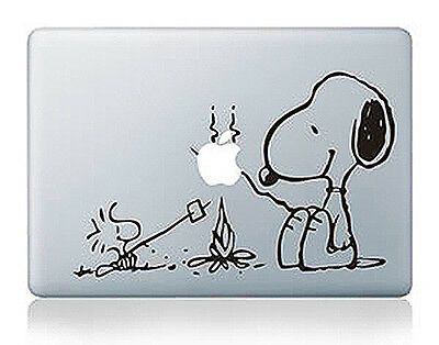 "Snoopy Picnic Apple Macbook Air/Pro/Retina 13/15/17"" Vinyl Sticker Skin Decal"