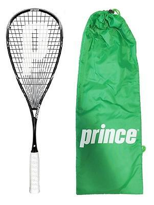 Prince Team Black Original 800 Squash Rackets + Head Cover RRP £170