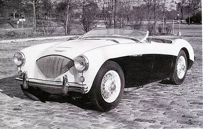 1955 Austin Healey 100M Factory Photo ua1862-SK7WNR