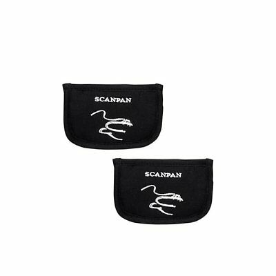 NEW Scanpan Side Handle Holders Set of 2 Black