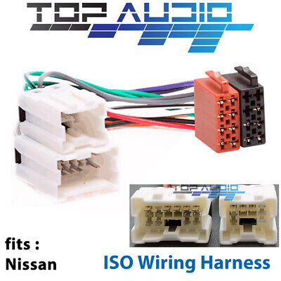 fit Nissan ISO WIRING HARNESS radio lead wire loom connector adaptor APP0120