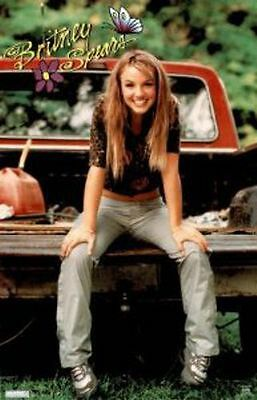 """Britney Spears Poster - 1999 - NEW 22.25"""" x 34.5"""" - Music"""