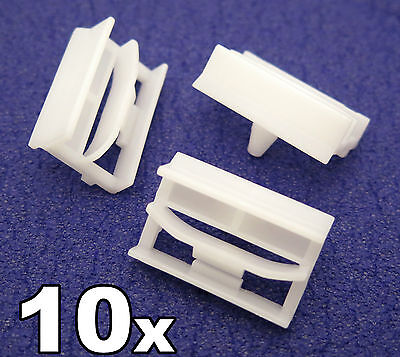 10x BMW 3-Series Sideskirt Plastic Clips- Plastic Bracket for Sill Moulding Trim