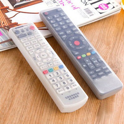 Hot Sale Air Condition TV Remote Control Silicone Dustproof Cover Protector Bag