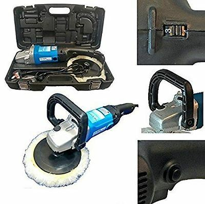 Pro-Max 180mm Sander Polisher 1200w with Carry Case