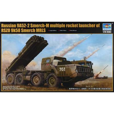 NEW Trumpeter 1/35 9A52-2 Smerch-M Rocket Launcher 1020