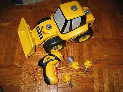 Toy State Caterpillar Construction Take-A-Part Trucks Wheel Loader