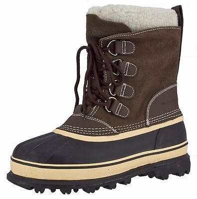 Northside Men's Back Country Waterproof Lace Up Suede -40F Insulated Boots