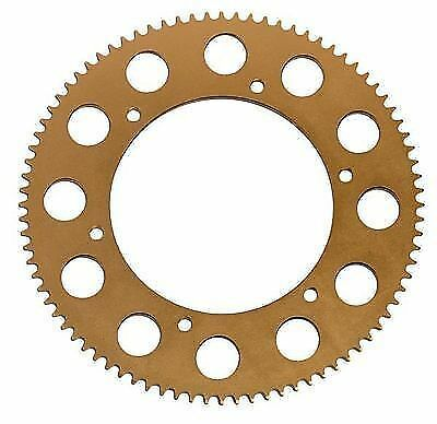 64t High Quality 219 Gold Annodised Alloy Kart Sprocket FREE POSTAGE WIZZ KARTS