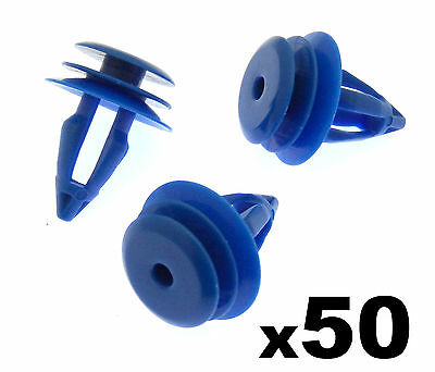 50x Land Rover Range Rover Evoque Plastic Clips for Front & Rear Wheel Arch Trim