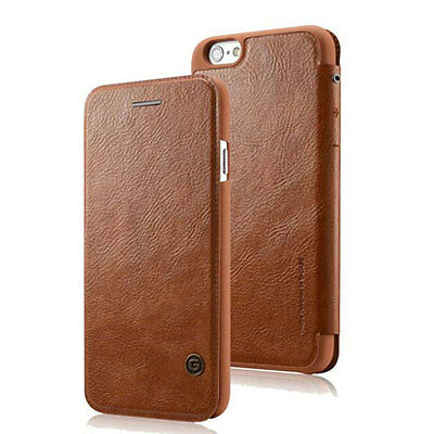 Luxury Genuine PU Leather Flip Cover Card Wallet Case For iPhone XS Max XR 8 7 6