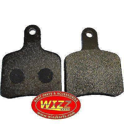 Pair of Tony Kart (OTK) Pattern Medium Brake Pads FREE POSTAGE WIZZ KARTS