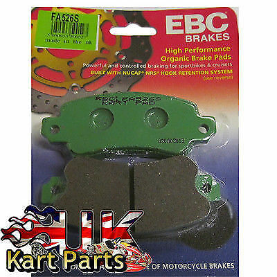 KART Pair of Kart Components EBC FA526S Green Brake Pads Best Price on eBay