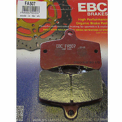 Tony Kart (OTK) EBC FA507 16mm Rear Hard Brake Pads FREE POSTAGE WIZZ KARTS