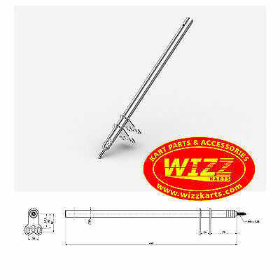 M8 x 510mm Steering Column High Quality FREE POSTAGE WIZZ KARTS