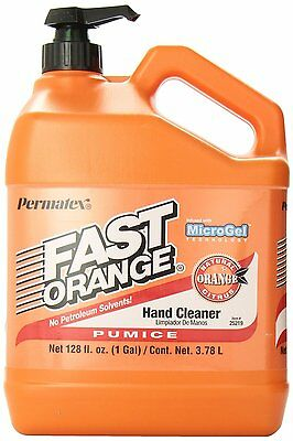 Permatex 25219 Fast Orange Pumice Lotion Hand Cleaner with Pump,1 Gallon NEW ...