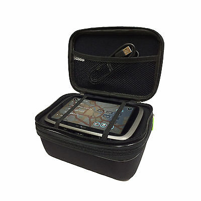 "6"" Multi-Compartment Heavy Duty Carry All Case For TomTom TRUCKER 6000"
