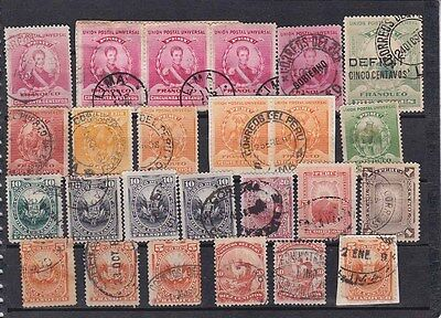 42 antique stamps ,useful cancel            a1770