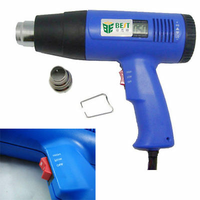 1600W 220V BEST 8016 Handheld LCD Display Electronic Heat Gun IN