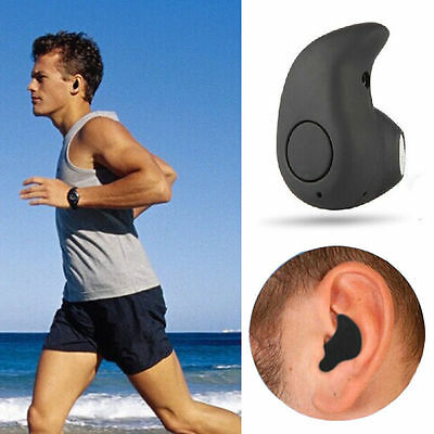 Black Stereo Wireless Bluetooth Headset Headphones Sport for iPhone iPad UK CE