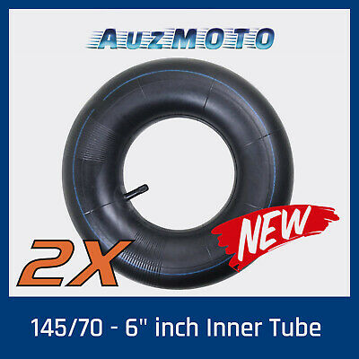 2 x 6 Inch Inner Tube fit 145x70-6 Tyre Pocket Rocket ATV Quad Bike Buggy Gokart