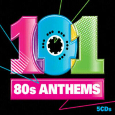 Various Artists : 101 80's Anthems CD Box Set 5 discs (2010) Fast and FREE P & P