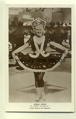 b1044 - Film Actress - Sonja Henie - Picturegoer postcard no FS123