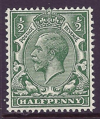 N14(14) ½d Blue Green Royal Cypher UNMOUNTED MINT/MNH