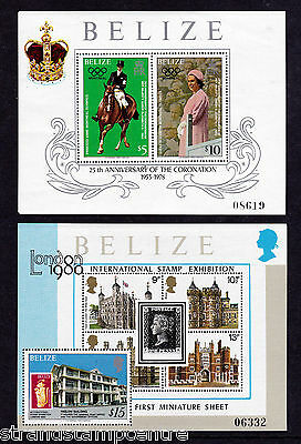 Belize - 1979 25th Anniversary of the Coronation - U/M - SG MS503 (2)