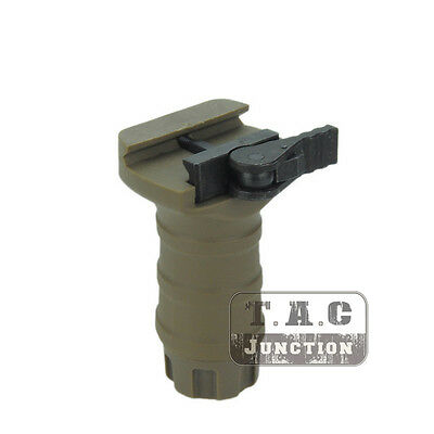 Tactical Foregrip QD Short Forward Vertical Grip for 20mm Picatinny Weaver Rail