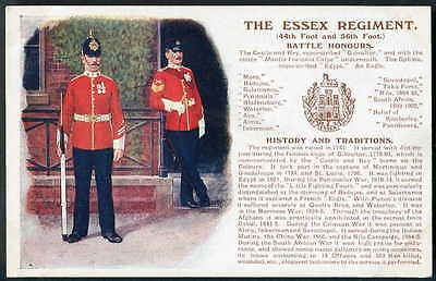 THE ESSEX REGIMENT History & Traditions. Gale & Polden. Original edition 1909