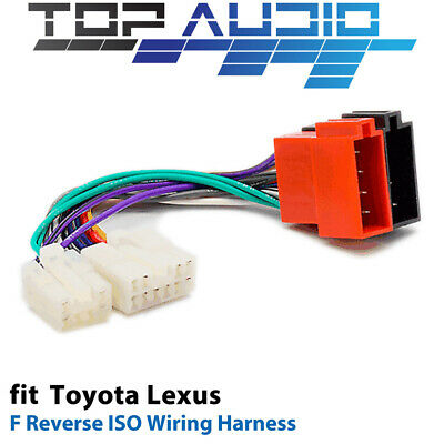 toyota iso wiring harness stereo radio plug lead wire loom f reverse iso wiring harness for toyota app0141f adaptor cable lead loom plug