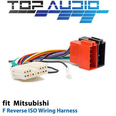 F Reverse ISO Wiring Harness for Mitsubishi APP0111F adaptor cable lead loom