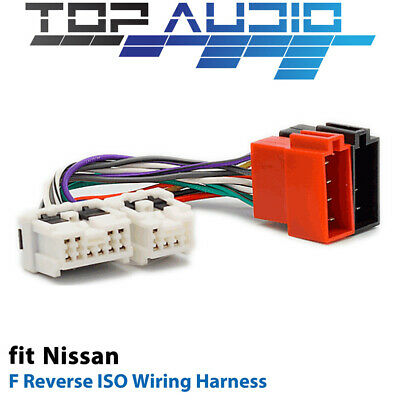 F Reverse ISO Wiring Harness for Nissan APP0120F adaptor cable lead loom plug