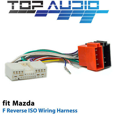F Reverse ISO Wiring Harness for Mazda APP072F adaptor cable lead loom plug
