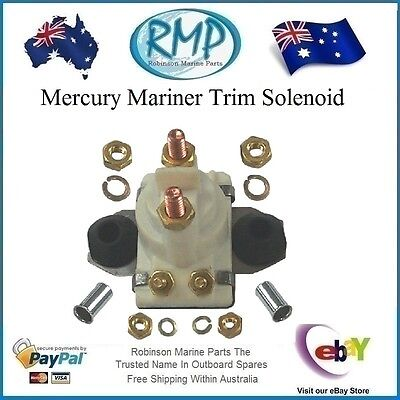A Brand New RMP Power Trim Solenoid Mercury Mariner Outboards # R 89-818997T1