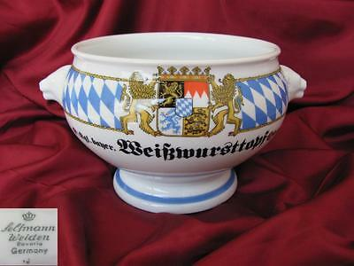 1920s ANTIQUE GERMAN BAVARIAN PORCELAIN BOWL MARKED
