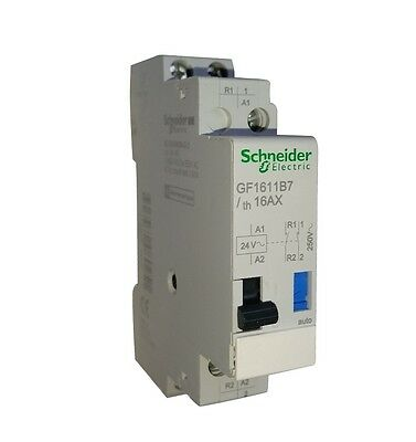 Schneider Electric Impulse Relay Switching Control 2P 16 A 250 VAC 24v Switch