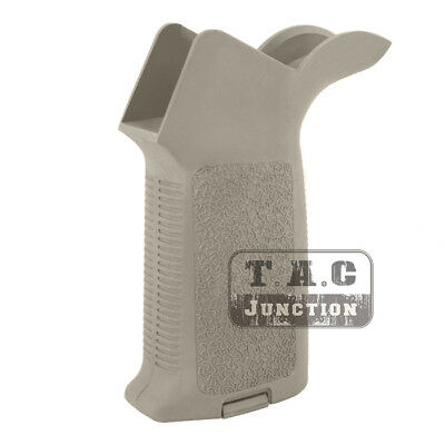 Tactical Hand Grip MOE Style Motor Grip Vertical Angled Textured Anti-slip Grip