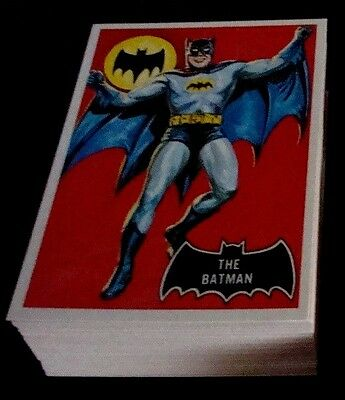 Deluxe Reissued 1966 Batman Trading Cards Boxed Set Series 1-3 (1989) 143 Cards