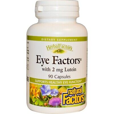 Eye Care & Vision Supplement 90 Capsules | Blueberry Bilberry Lutein Marigold