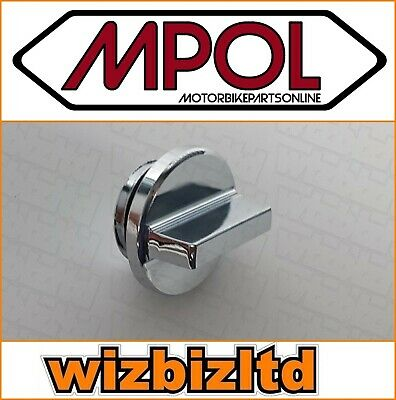 Polished Alloy Oil Filler CAP Yamaha YZF600R Thundercat 1994-12 OILY01CH