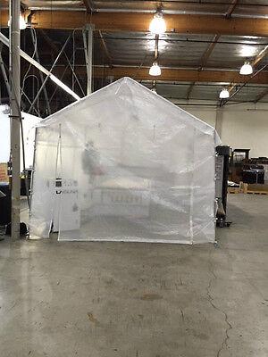 20x40 Heavy Duty Party Tent Clear with walls