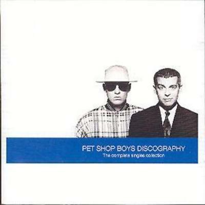 Pet Shop Boys : Discography: The Complete Singles Collection CD (1991)